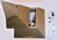Pyramide 3 étages en bois