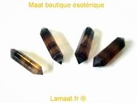 Pointe ou baton de fluorite