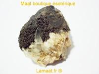 Cerusite avec manganése