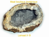 Cristal de roche géode