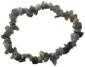 Bracelet labradorite brut