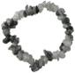 Bracelet Cristal de roche Tourmaline noire