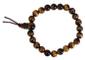 Bracelet Chapelet Oeil de Tigre perles 8