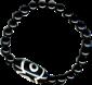 Bracelet Onyx simple DZI