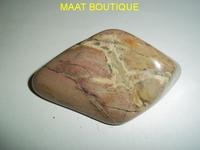 Agate marron quartz