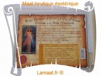 Bougie parchemin de prière à la cire d'encens Jésus