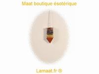 Pendule pyramide de couleur 7 Chakras
