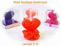 Bougie coeur