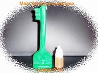 Bougie Clé magique du succès vert avec son huile