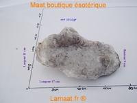 Amas de quartz - cristal de roche