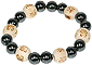 Bracelet Perles de karma Hématite - kids