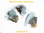 Baryte bleu pierre de collection