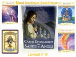 Cartes divinatoires des saints et anges - Doreen Virtue