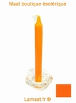 Bougie rituels orange