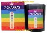 Bougie 7 Chakras