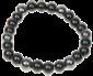 Bracelet Magnétique Onyx hématite