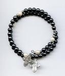 Bracelet Hématite perle ronde
