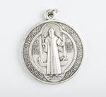 Médaille argentée de St Benoit
