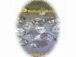 Cristal de roche percé
