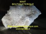 Cristal de Roche- Fleur de Manganèse