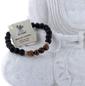 Bracelet Homme  Oeil de Tigre et Perles de Lave