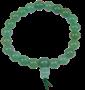 Bracelet Aventurine verte mala tibétain