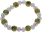 Bracelet perles de karma Quartz rose kids
