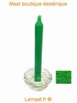 Bougie rituels vert vif