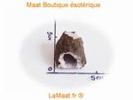Geode petite pièce de cristal de roche