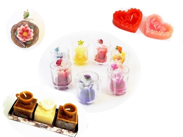 Bougies Déco - fête