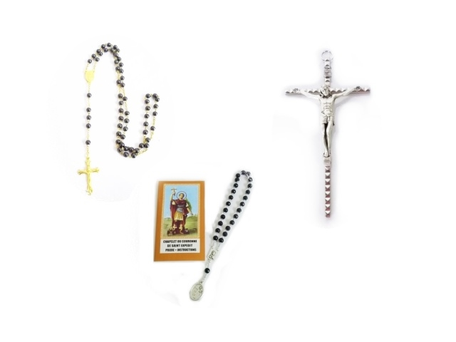 Chapelets crucifix
