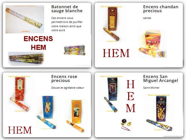 Encens baton HEM