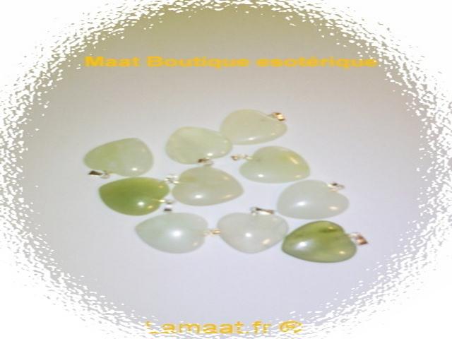 Pendentif en jade